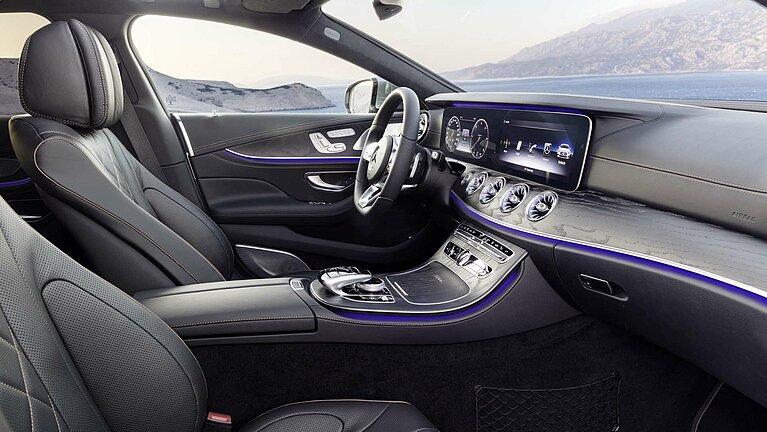 Das Interieur des Mercedes-Benz CLS Coupé Edition 1