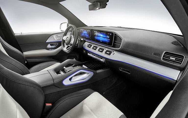 Das Interieur des Mercedes-Benz GLE