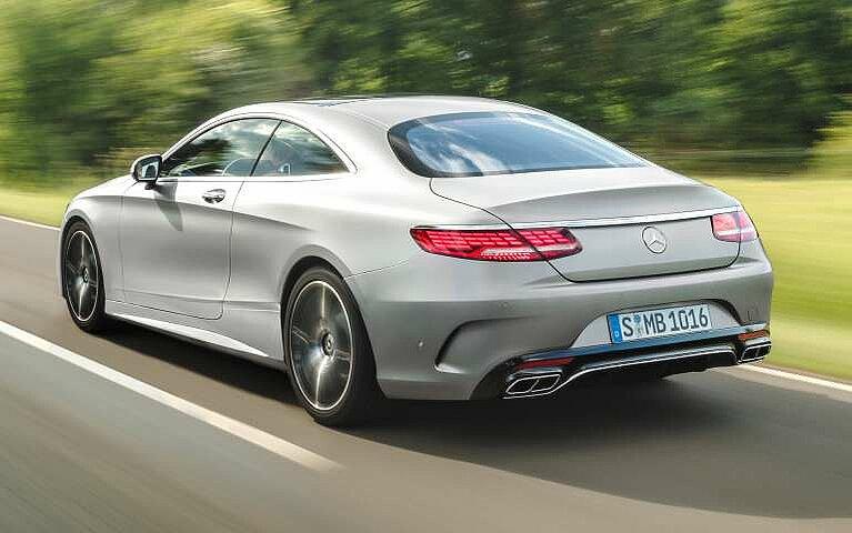 Mercedes-Benz S-Klasse Coupé Heckansicht