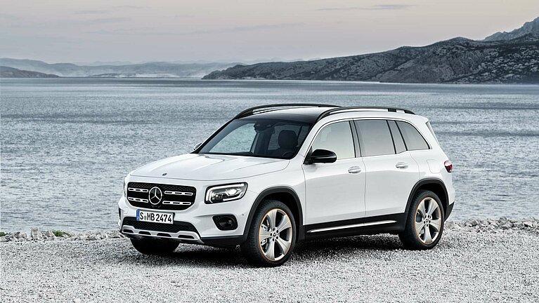 Das Exterieur des Mercedes-Benz GLB