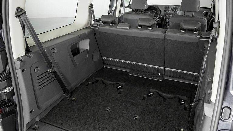 Laderaum des Mercedes-Benz Citan