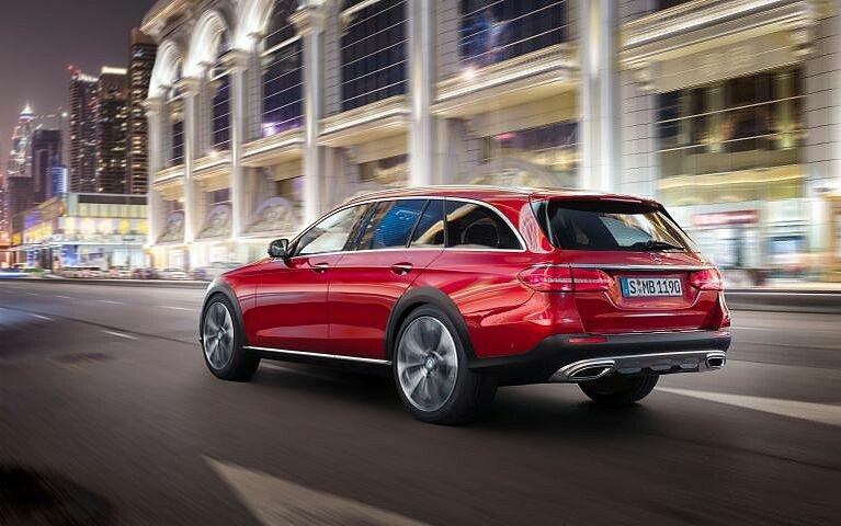 Mercedes-Benz E-Klasse All-Terrain Heckansicht