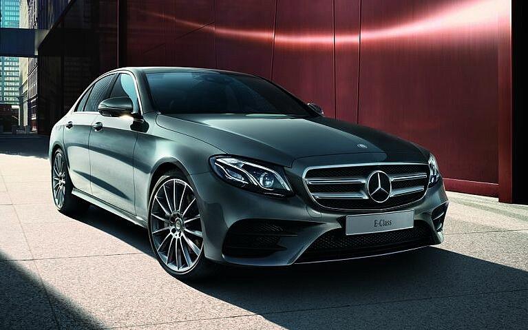Die Mercedes-Benz E-Klasse von vorne