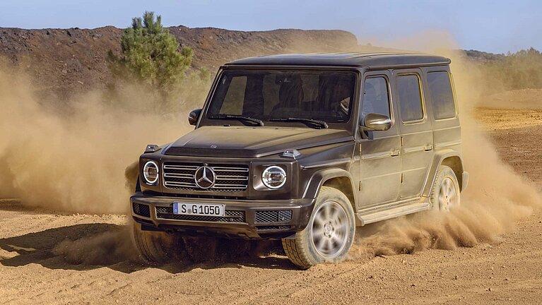 Die Mercedes-Benz G-Klasse offroad