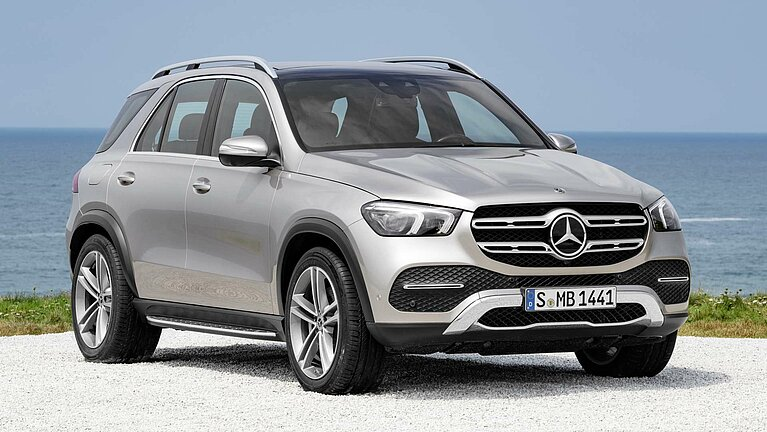 Das Exterieur des Mercedes-Benz GLE