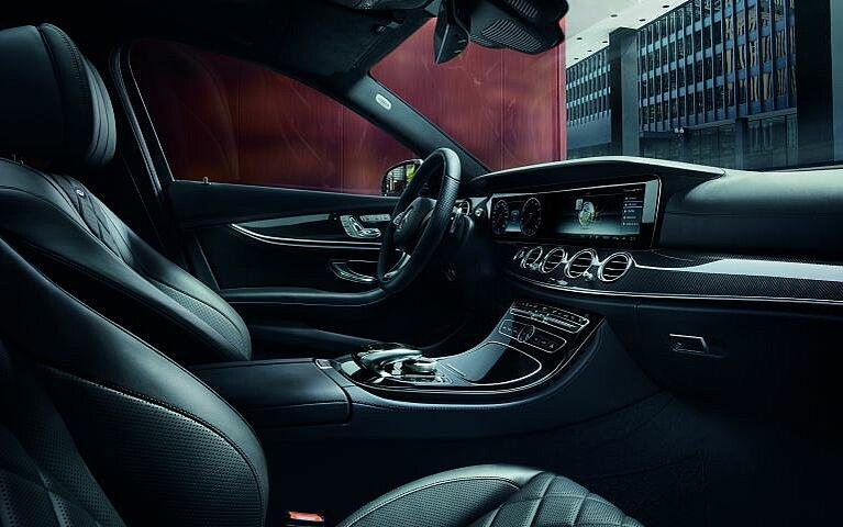 Das Interieur der Mercedes-Benz E-Klasse