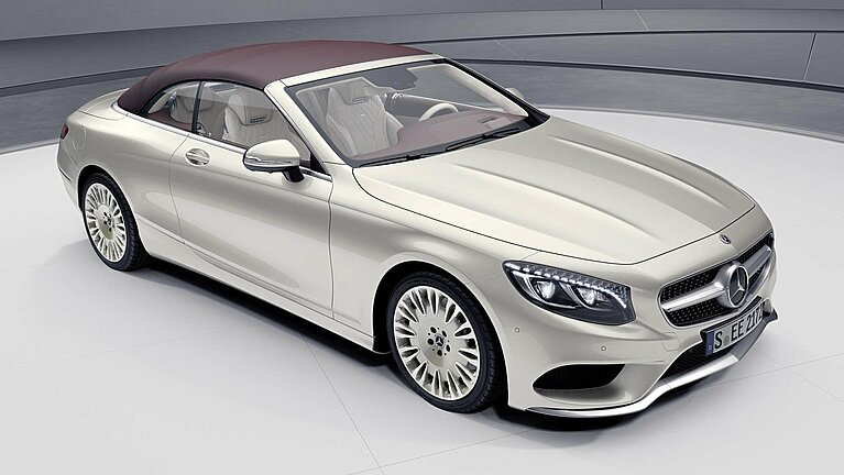 Das Mercedes-Benz S-Klasse Cabriolet als Sondermodell Exclusive Edition