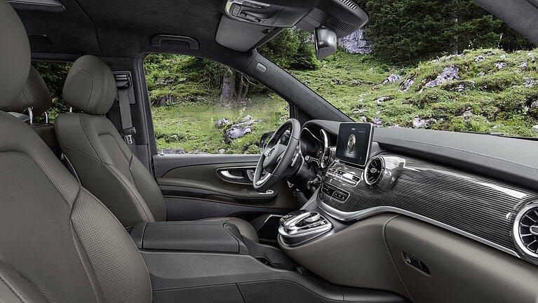 Das Interieur der Mercedes-Benz V-Klasse