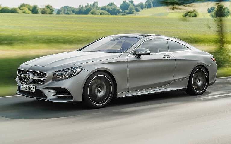 Mercedes-Benz S-Klasse Coupé Frontansicht