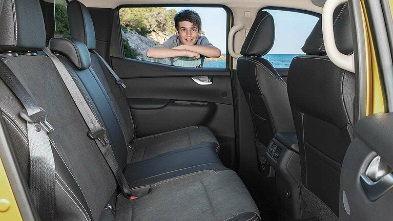 Das Interior des Mercedes-Benz X-Klasse der Ausstattungslinie PROGRESSIVE