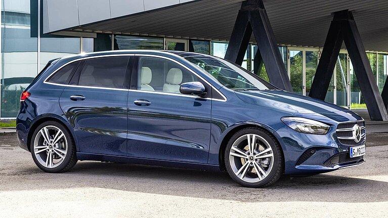 Das Exterieur der Mercedes-Benz B-Klasse