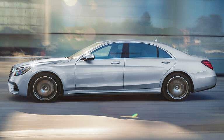 Mercedes-Benz S-Klasse Seitansicht