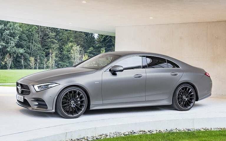 Seitenansicht des Mercedes-Benz CLS Coupé
