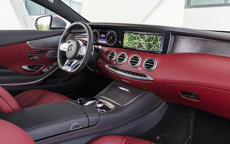 Mercedes-Benz S-Klasse Coupé Interieur
