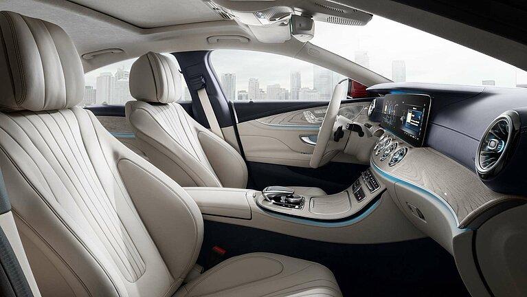 Das Interieur des Mercedes-Benz CLS Coupé