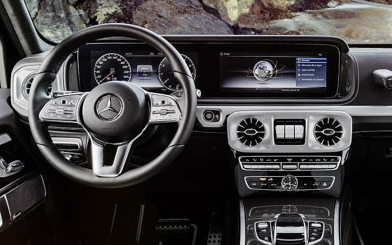 Blick ins Innere der neuen Mercedes-Benz G-Klasse