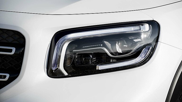 Die Fahrassistenzsysteme des Mercedes-Benz GLB