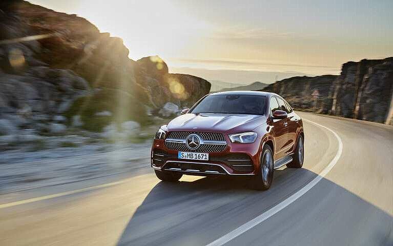 Mercedes-Benz GLE Coupé Frontansicht