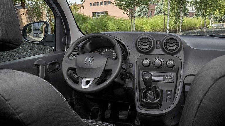 Interieur des Mercedes-Benz Citan