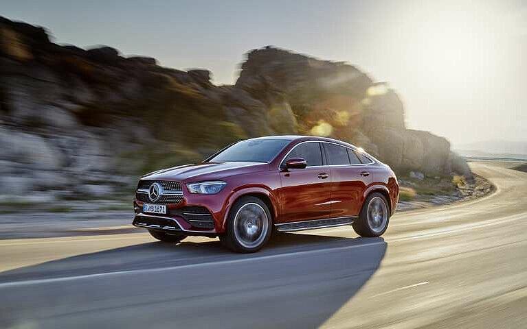 Mercedes-Benz GLE Coupé Seitansicht