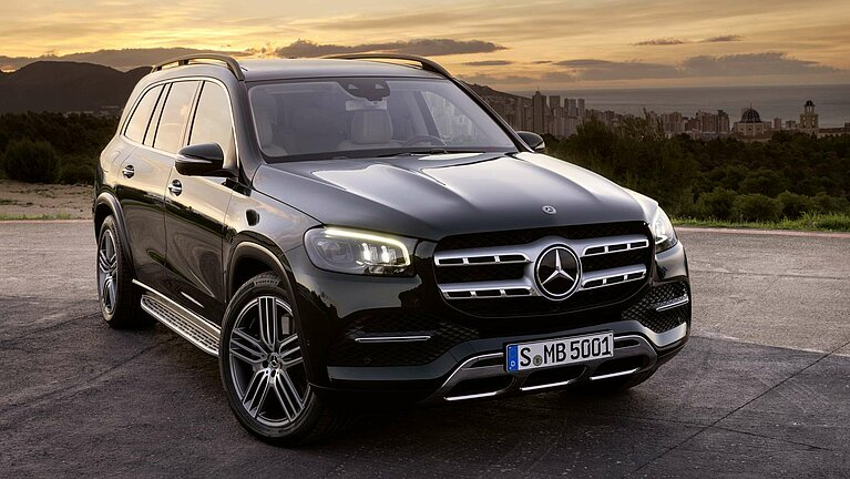 Das Exterieur des Mercedes-Benz GLS