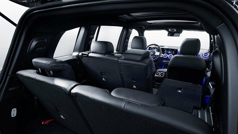 Das Interieur des Mercedes-Benz GLB