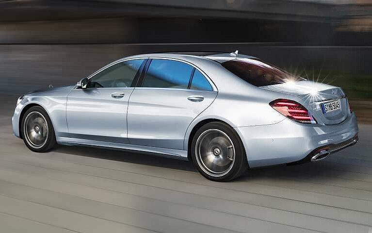 Mercedes-Benz S-Klasse Heckansicht