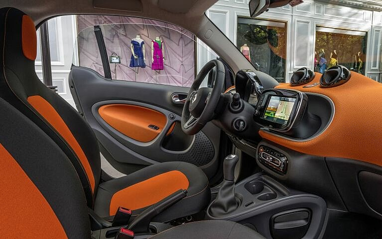 Innenraum des smart fortwo