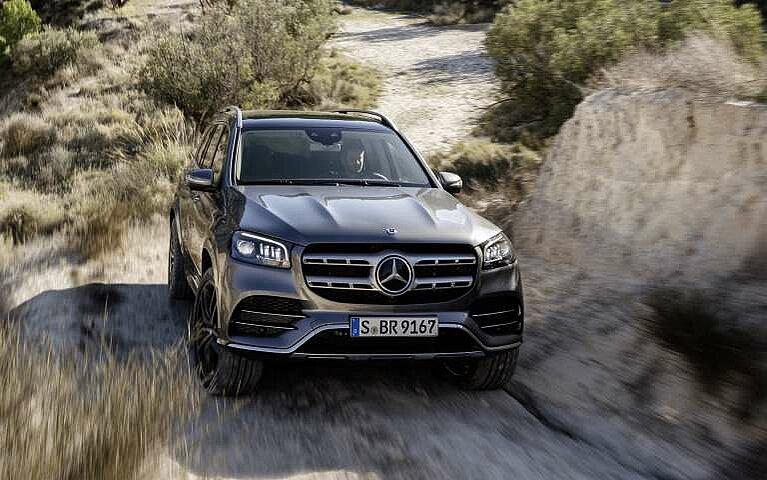 Der Mercedes-Benz GLS im Gelände