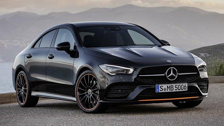 Das Exterieur des Mercedes-Benz CLA Coupé