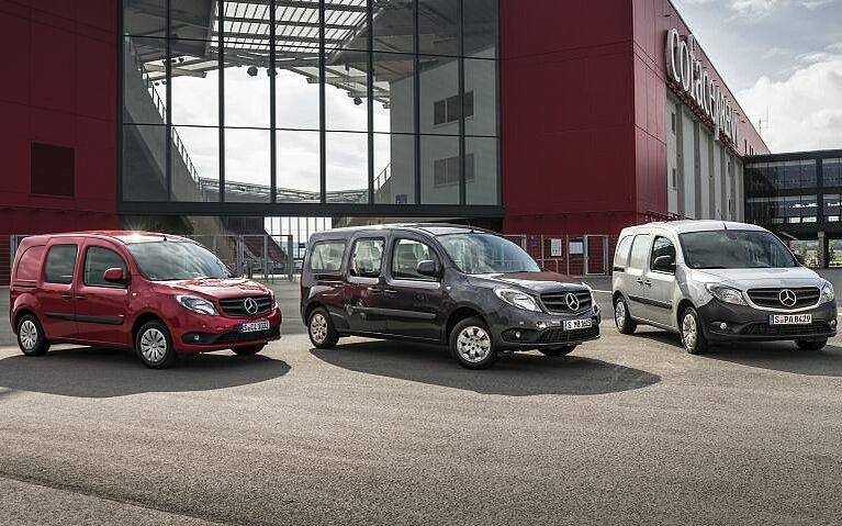 Varianten von Mercedes-Benz Citan Fahrzeugen