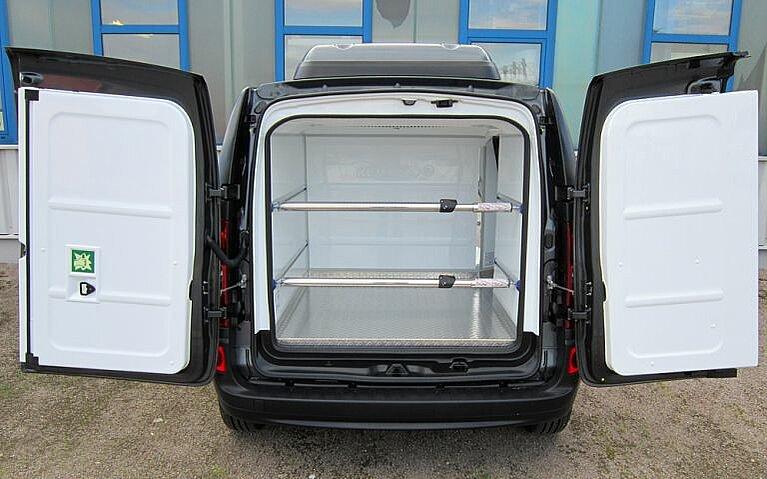 Ladenraum des Mercedes-Benz Citan Kühlfahrzeug