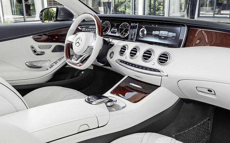Mercedes-Benz S-Klasse Cabriolet Interieur