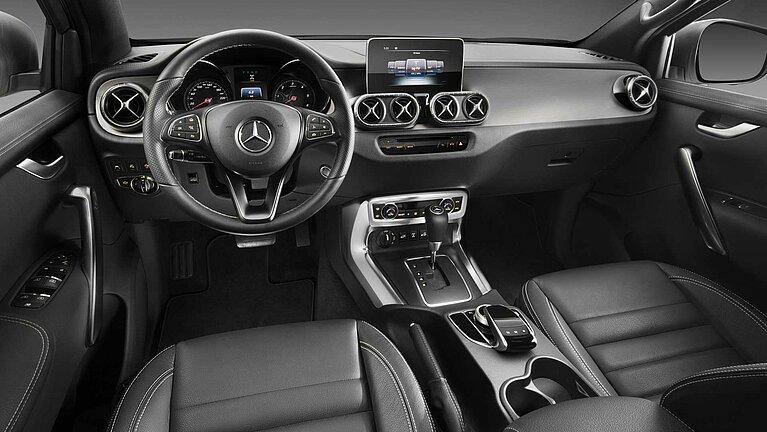 Das Interior des Mercedes-Benz X-Klasse der Ausstattungslinien POWER