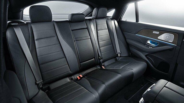 Mercedes-Benz GLE Coupé Interieur Rücksitze