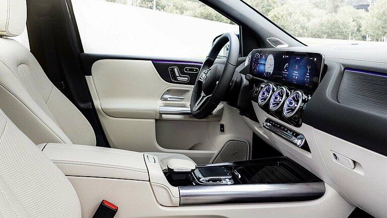 Das Interieur der Mercedes-Benz B-Klasse