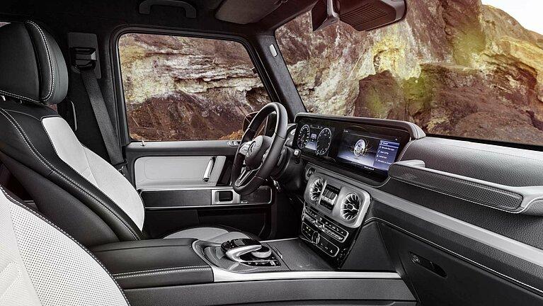 Das Interieur der Mercedes-Benz G-Klasse