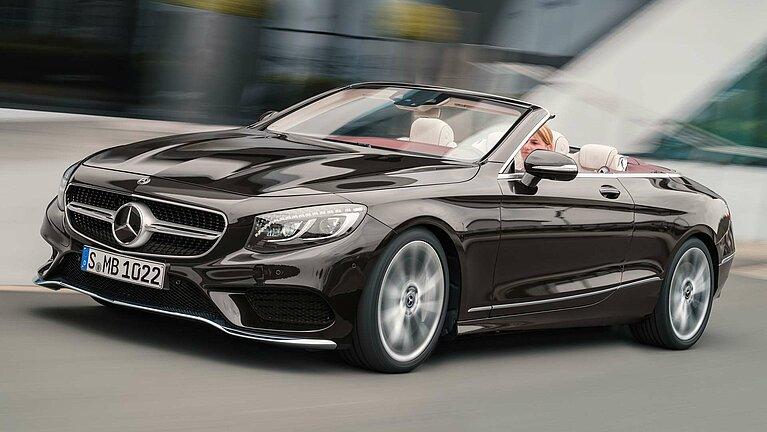 Das Exterieur des Mercedes-Benz S-Klasse Cabriolet